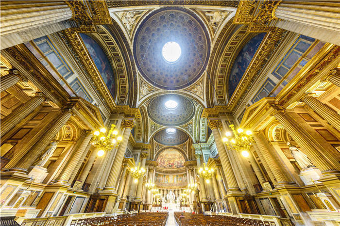 Church Mary Magdalene Paris 3D Full Wall Mural Photo Wallpaper Printed Home Deca