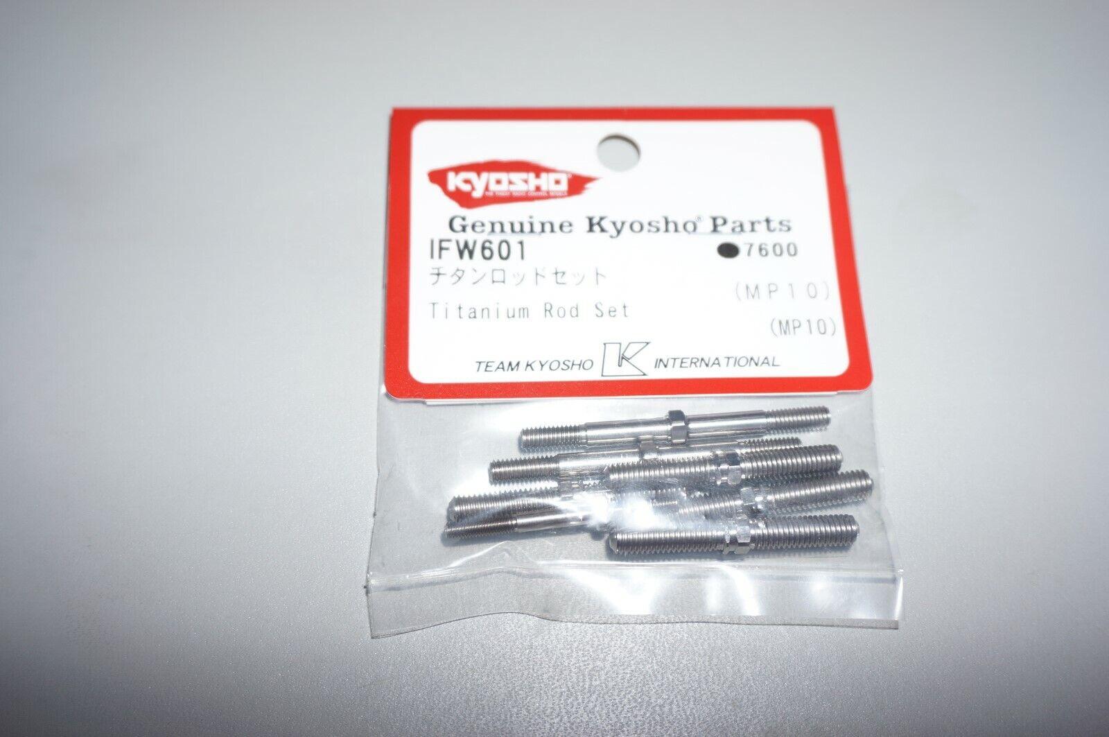 Kyosho MP10 conjunto de Barra de Titanio (IFW601)