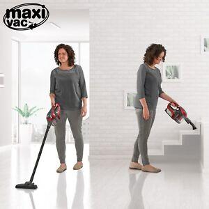maxi vac 2 in 1 handheld stick vac vacuum cleaner bagless cordless lightweight ebay. Black Bedroom Furniture Sets. Home Design Ideas