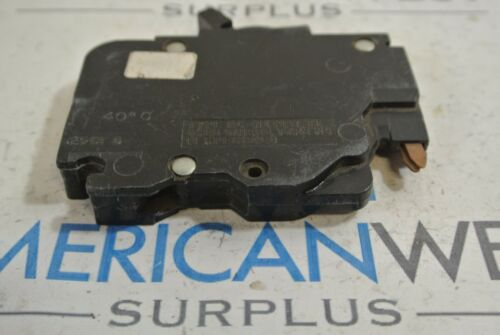 NC015 015 FPE American 1 pole 15 amp stab lok NC plug in 120v circuit breaker