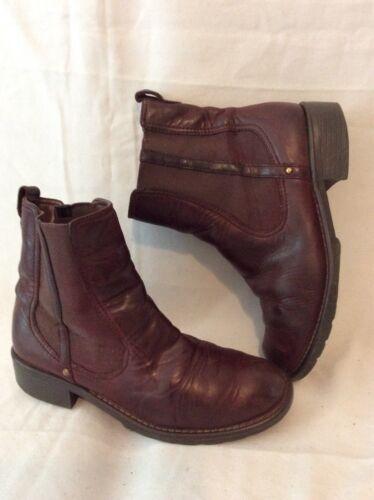 tobillo marrón talla Clarks cuero Botas 5d 3 de twvqn8I