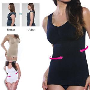 ee3db00377 Women s Slim Camisole Tank Top Tummy Control Body Shaper ShapeWear ...