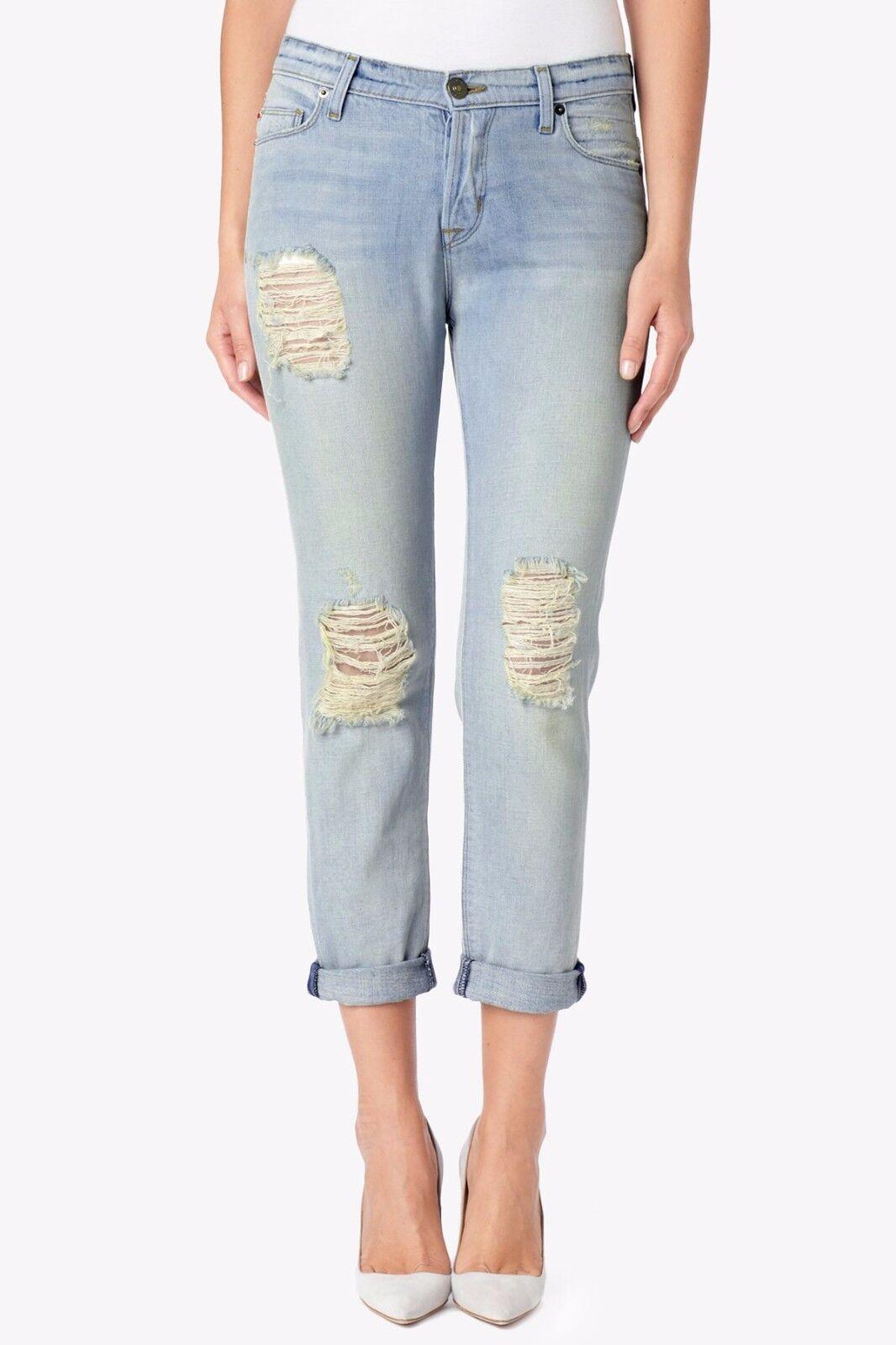 NEW Hudson Leigh Boyfriend Pant Weekend Warrior Jeans SZ 27