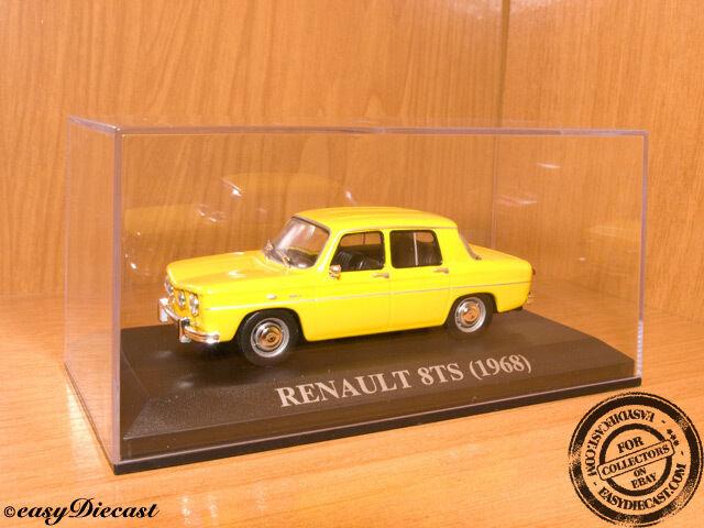 RENAULT 8TS 8-TS YELLOW 1968 1 43 MINT    RARE