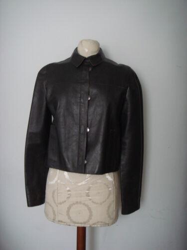 In Designer Made Femmes Sz Italy de 8 Klein Jacket veau Calvin 100 cuir SwxqYZn6f