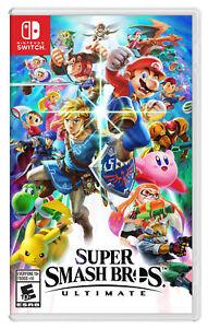 BRAND-NEW-Super-Smash-Bros-Ultimate-Nintendo-Switch-2018