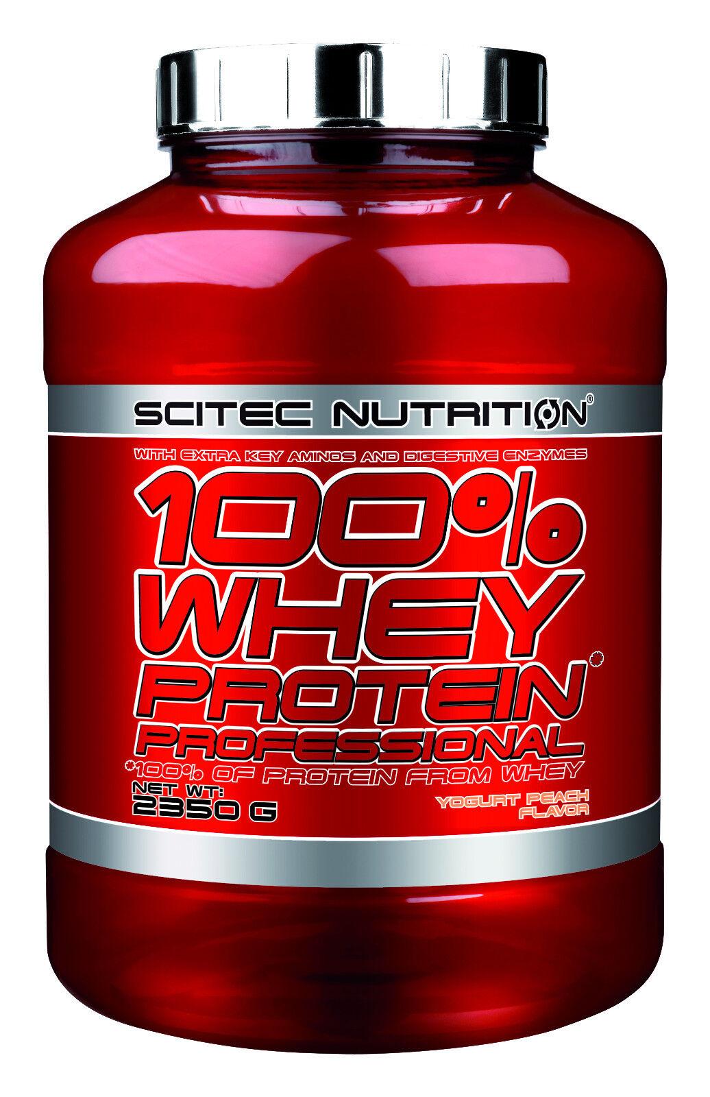 Scitec Nutrition 100% Whey 2350g Protein Prof. 2350g Whey aus Molkenprotein + Isolate a085e2