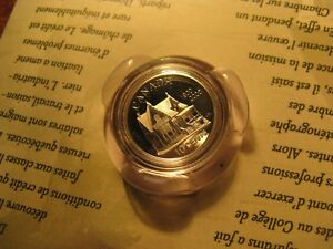 Canada-2000-10-Cent-Silver-Coin-100th-Anniversary-Credit-Union-In-North-America