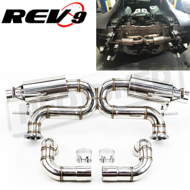 Rev9 CB-302 Stainless Steel Cat-Back Exhaust System For