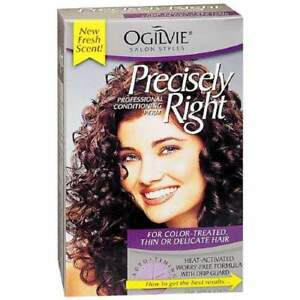 Ogilvie Precisely Right Perm Color Treated Thin Or Delicate Hair 1 Each 2pk