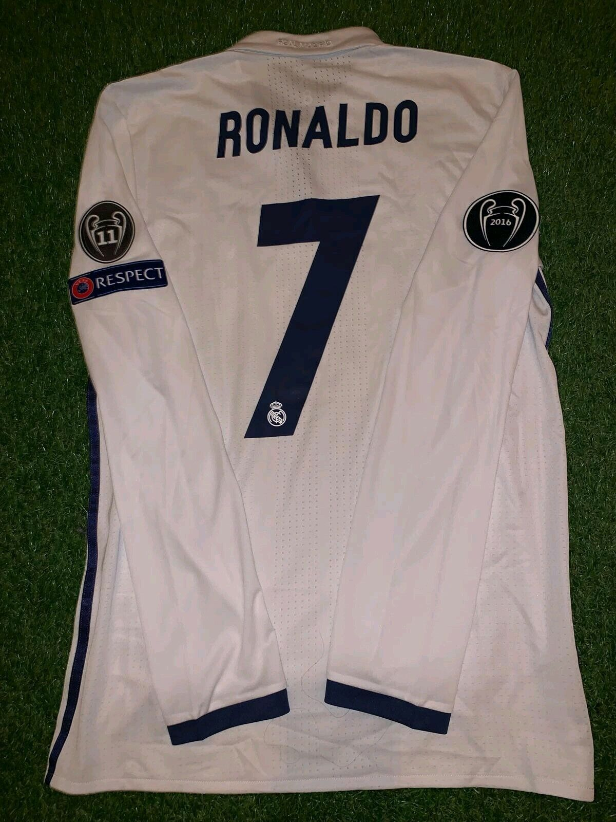 pretty nice 0d094 9b683 Ronaldo MATCH WORN Real Madrid shirt player issue Juventus ...