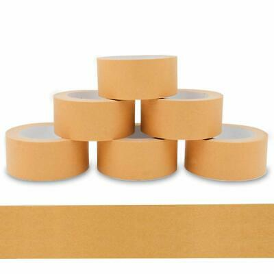 Papier Packband Braun Papier Klebeband biobasiertes Material Eco Packing Tape Naturkautschuk 6 Rollen V1 Trade 48 mm x 50 m