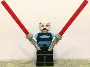 NEW Custom Minifigure Star Wars Asajj Ventress Clone Wars ARRIVES IN 2-4 DAYS
