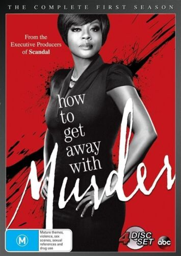1 of 1 - How To Get Away With Murder : Season 1 (DVD, 2015, 4-Disc Set)