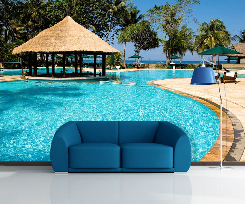3D Swimming pool 566 Wall Paper Print Wall Decal Deco Indoor Wall Murals