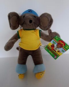 RASTAMOUSE CBEEBIES ZOOMER PLUSH SOFT TOY 14034 TALL WITH TAGS SKATES HELMET - Coventry, United Kingdom - RASTAMOUSE CBEEBIES ZOOMER PLUSH SOFT TOY 14034 TALL WITH TAGS SKATES HELMET - Coventry, United Kingdom