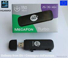 HUAWEI 4G LTE MODEM E3372 CHIAVETTA INTERNET KEY USB PC PORTATILE TUTTE LE SIM