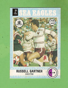 1977-SCANLENS-RUGBY-LEAGUE-CARD-88-RUSSELL-GARTNER-MANLY-SEA-EAGLES