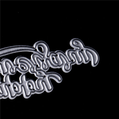 Pip happy anniversary Metal Cutting Dies Stencil Scrapbooking Photo Album ZB