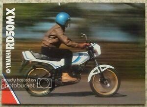 YAMAHA-RD50MX-MOTORCYCLE-Sales-Brochure-1981-LIT-3MC-0107569-81BK