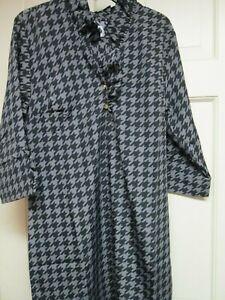 Gray-Black-Print-Ruffle-Dress-by-Mud-Pie-Size-Small-4-6-NWT
