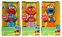 Sesame Street Light-up Pet Pals Elmo/cookie Monster/ernie Musical Toy