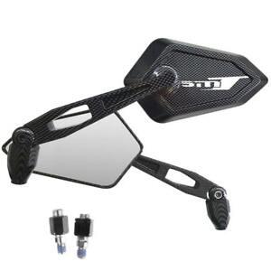 Espejos-Retrovisor-Street-Carbon-Look-Logo-Blanco-KTM-Smt-990-Super-Moto-Turin
