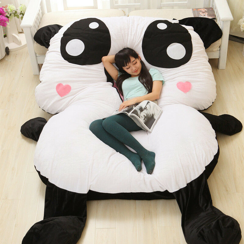Huge Giant Big Cute Panda Bed Sofa Toys Carpet Soft Tatami Home Mattress Gifts +