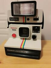Polaroid supercolor 1000 bouton rouge + Flash polatronic I