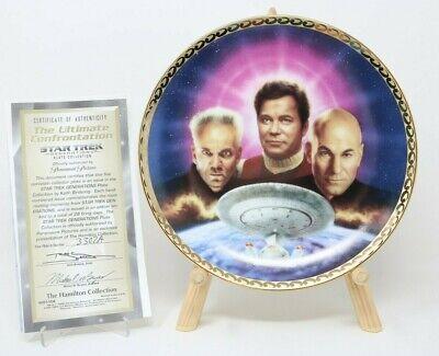 Star Trek Generations Kirk/'s Final Voyage Collector Plate w//COA Clean