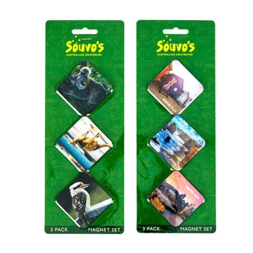Australian Souvenir Fridge Magnet 6 pieces
