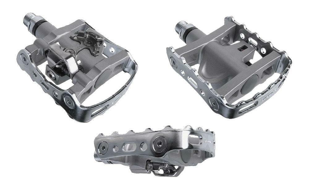 Shimano Pd-m324 Road Mtb Touring Multiuso Clipless Spd Pedales Inc.. Botines