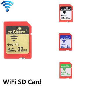 4GB-8GB-16GB-32GB-Ez-Share-WiFi-Wireless-SD-Card-Class10-SDHC-Memory-Card-X8H6