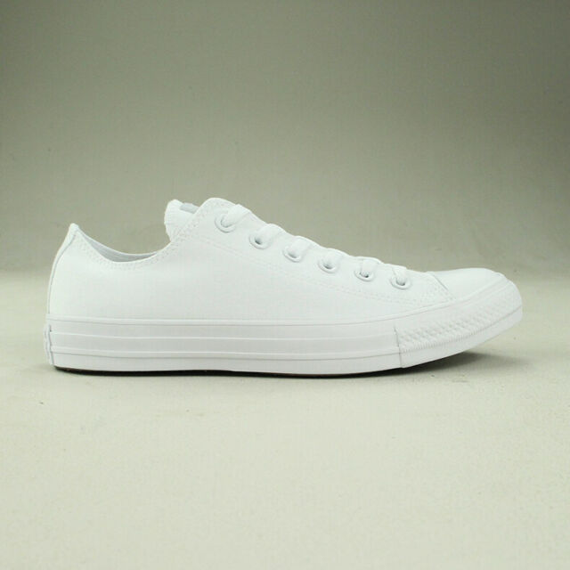 Converse All Star Ox White Trainers Brand new Size UK sizes 3,4,5,6,7,8,9,10,11,