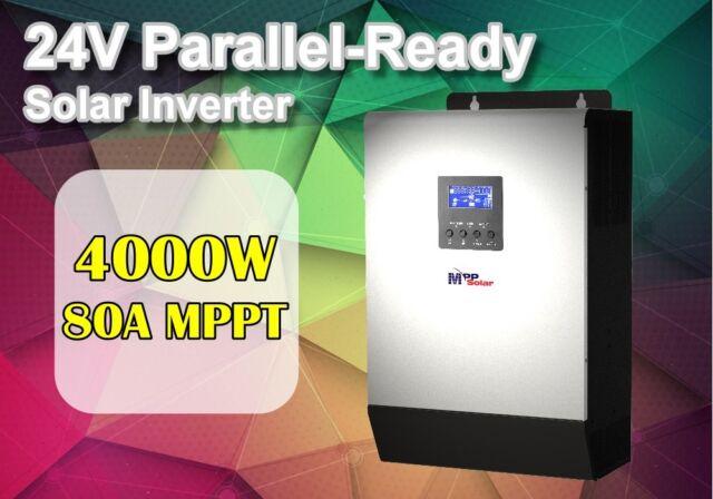 24v 4000w 5kva Solarwechselrichter + 80a mppt Solarladegerät