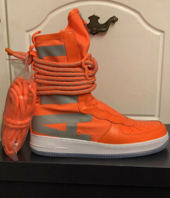 Nike SF Air Force 1 Total Orange Size UK 11 EUR 46 US 12 Aa1128 800 Af1