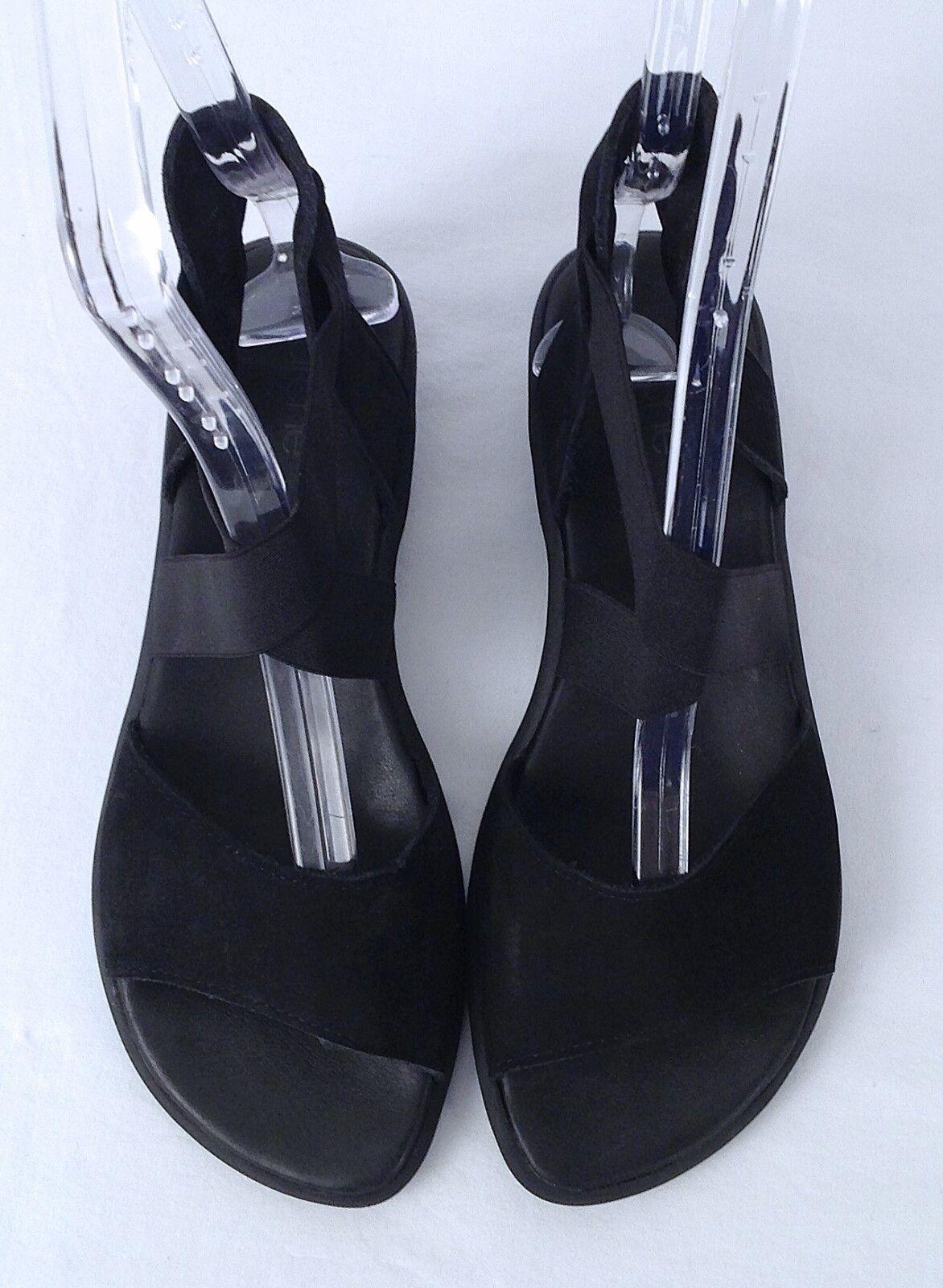 Arche 'Satia' Sandal - Black- Size 7 US  38 EU -  298  (P12)