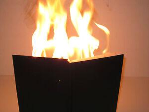 Details about Hot Book Magic Trick FIRE Book - Stage Prop, MC Bit,  Comedians, Make Big Flames