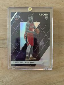 2019-20-Panini-Chronicles-Recon-Zion-Williamson-Rookie-Card