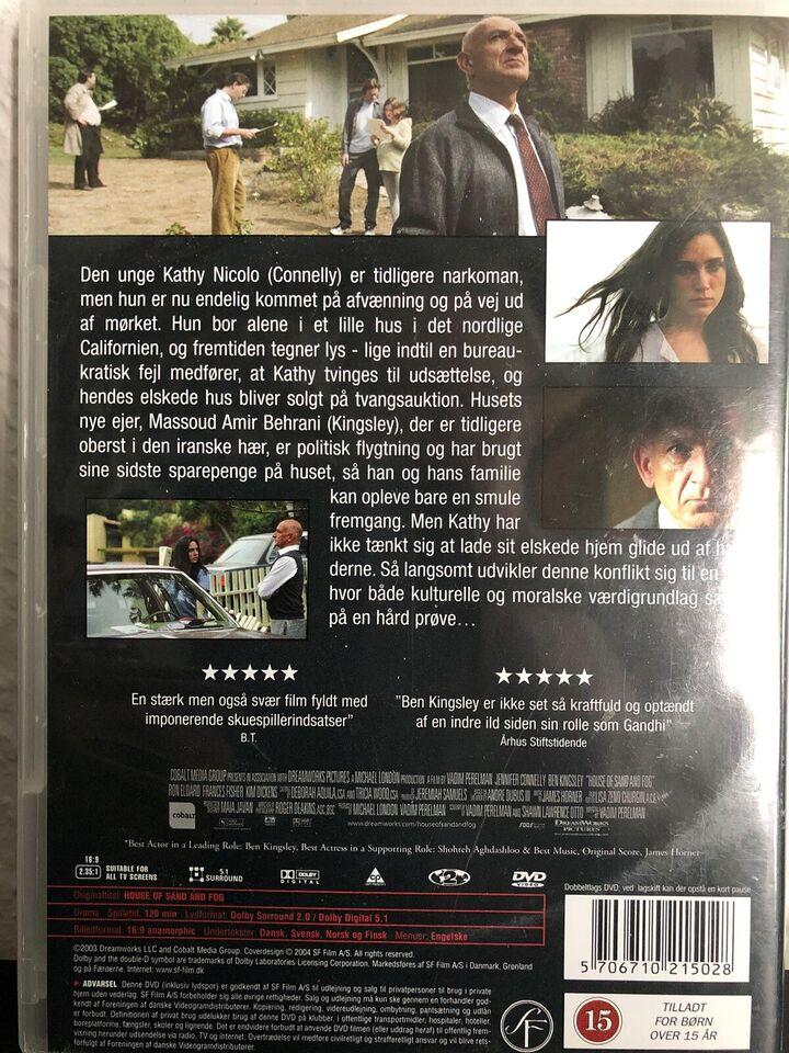 House of sand and fog, DVD, drama