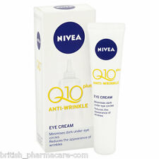 Nivea Q10 Plus Anti Wrinkle Eye Cream for Dark Circles and Wrinkles 15ml
