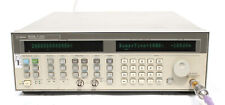 Hp Agilent 83752b 001 To 20ghz High Power Synthesized Sweeper