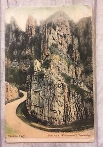 Vintage Postcard Of Cheddar Cliffs - Rimswell, East Riding of Yorkshire, United Kingdom - Vintage Postcard Of Cheddar Cliffs - Rimswell, East Riding of Yorkshire, United Kingdom