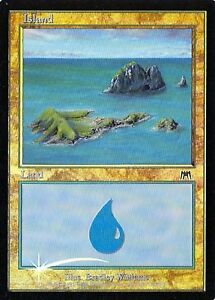 Various conditions Foil MTG Island #336 Odyssey