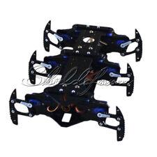 DIY Six Feet Robot 6-Legged 6DOF Hexapod4 Spider Robot Frame Black S