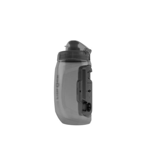 Fidlock Trinkflasche mit Connector Twist Transparent Schwarz 450 ml