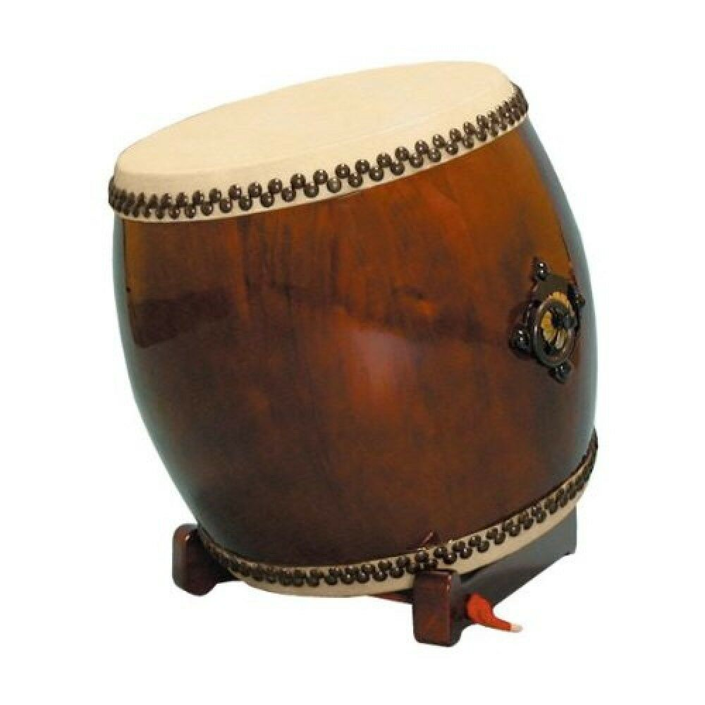 Suwa drum length long drum Taiko 1.4 scale no ear Folding low oblique pedestal