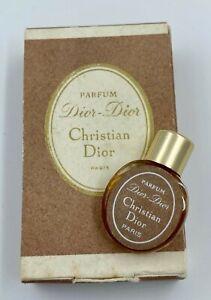 Christian-dior-DIOR-DIOR-parfum-0-9-ml-VINTAGE-MINIATURE-VIP-GIFT
