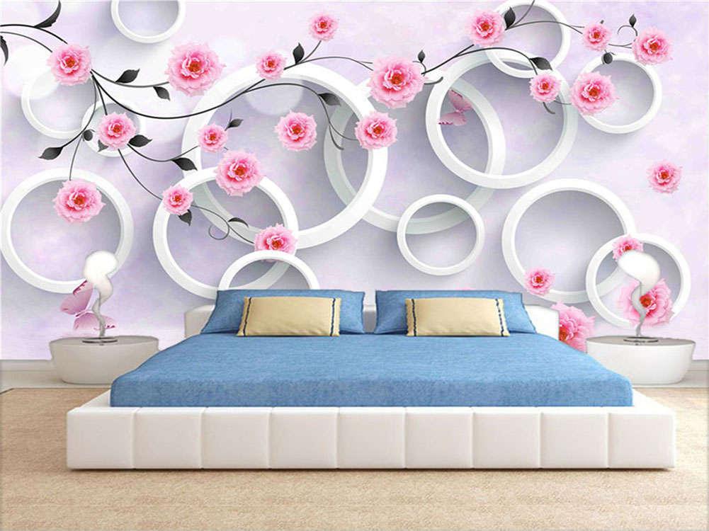 Massive Normal Float 3D Full Wall Mural Photo Wallpaper Printing Home Kids Decor