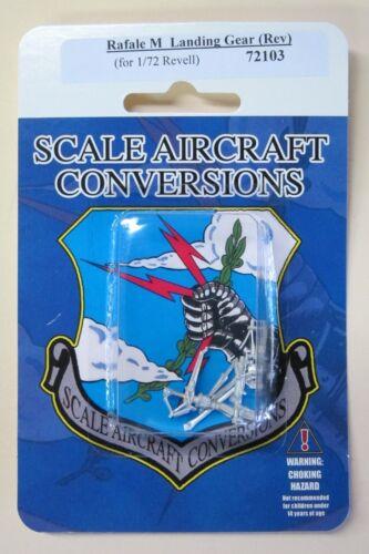 Rafale M Landing Gear for 1//72nd Scale Revell  Model  SAC 72103